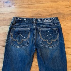 Miss Me Bootcut Jeans Style JP4996